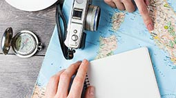 Allianz - Travel Planning on Map